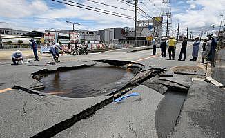 Japonya'da 6.1 büyüklüğünde deprem: 3 ölü