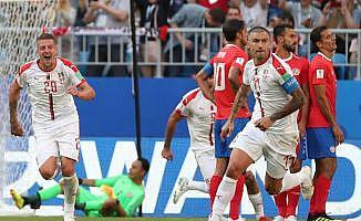 Sırbistan 1 attı, 3 aldı