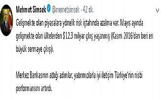 """""""TCMB'nin attığı adımlar Türkiye'nin nisbi performansını artırdı"""""""