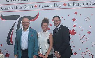 Kanada Milli Günü resepsiyonuna Kanada Okulları da katıldı