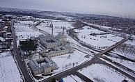 Edirne'deki güzellik havadan görüntülendi
