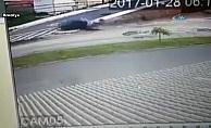 Eski eşine arabayla çarptı, sonra tekmeledi