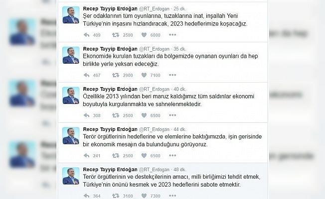 """Erdoğan:  """"2023 hedeflerimize koşacağız"""""""