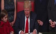 Trump ilk emirlerini imzaladı