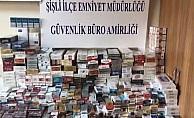 Şişli Feriköy'de kaçak sigara operasyonu