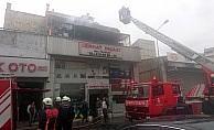 Zeytinburnu Demirciler Sitesi'nde yangın