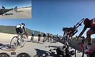 ABD'deki bisiklet yarışında zincirleme kaza