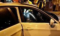 Gebze'de otomobil direğe çarptı, araç sürücüsü öldü