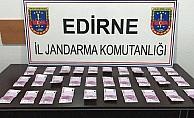 15 bin euro sahte parayı iç çamaşarına saklamış