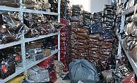 5 bin adet sahte çanta ve cüzdan ele geçirildi