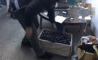 Zeytinburnu'nda sahte içki imalathanesine operasyon