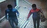 Televizyon çalan hırsızlar polise yakalandı