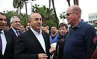 Alanya'daki Hollandalılardan Çavuşoğlu'na destek geldi