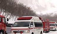 Japonya'da kayak merkezinde çığ faciası: 8 ölü