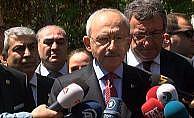 Kılıçdaroğlu'ndan Erdoğan Teziç'in ailesine ziyaret