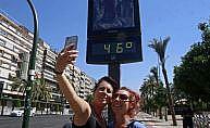 Avrupa kavurucu sıcaklara teslim