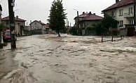 Bulgaristan selle boğuşuyor