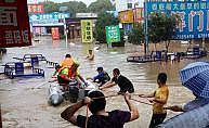 Çin'de sel felaketi: 49 ölü