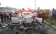 Trabzon'da feci trafik kazası: 3 ölü