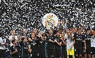 UEFA Süper Kupası Real Madrid'in