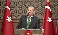 """Erdoğan: """"Biz PYD-YPG'ye asla sözde devlet kurdurmayız"""""""