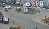 Trabzon'da otomobilin çarptığı genç kız havaya uçtu