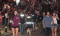 Bodrum'da barlar sokağına operasyon