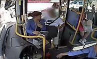 Dikkatli otobüs şoförü yankesiciyi böyle fark etti