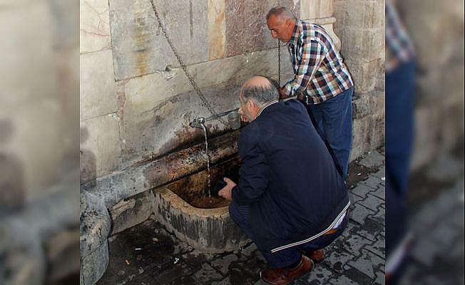 Bu çeşmenin suyu 180 yıldır durmadan akıyor