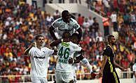 Bursaspor'un golleri yabancı futbolculardan geldi