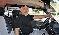 Otomobilini mahalle halkının kullanımına açtı