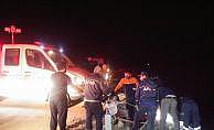 Trabzon'da otomobil uçuruma yuvarlandı: 3 ölü, 1 yaralı