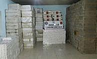 Hakkari'de 473 bin 980 paket kaçak sigara ele geçirildi