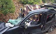 Artvin'de trafik kazası: 3 ölü, 1 yaralı