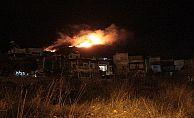 Bodrum'daki yangın tatil sitelerine kadar ulaştı