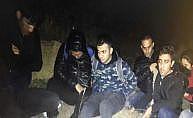 Suriyeli kaçak göçmenler çöp kamyonundan çıktı