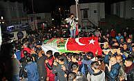 Kazada ölen futbolcu Erdoğan Çakmak için tören düzenlendi