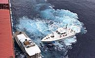 Türk konteyner gemisi 77 göçmeni kurtardı
