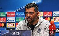 """Porto Teknik Direktörü: """"Çok güçlü bir takıma karşı oynadık"""""""