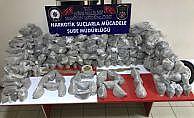 Ağrı'da durdurulan tırdan 297 kilo eroin çıktı