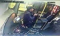 Halk otobüs şoförünün çantası çalındı