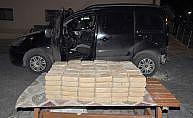 Konya'da otomobilde 89 kilogram eroin ele geçirildi