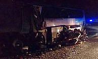 Rusya'da korkunç trafik kazasında 15 kişi öldü