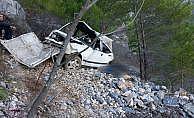 Alanya'daki trafik kazasında 2 kişi öldü