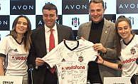 Avon, Beşiktaş ile sponsorluk anlaşması imzaladı