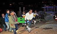 Beton dökme aracının altında kalan işçi öldü