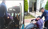 Engelli vatandaşa çarpan sürücü kaçtı