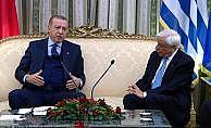 Erdoğan'dan Yunan mevkidaşı Pavlopulos'a ayar