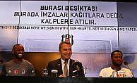 Beşiktaş'ta Vagner Love ve Cyle Larin imzayı attı