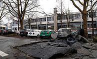 """""""Friederike Kasırgası"""" Almanya'da hayatı felç etti"""